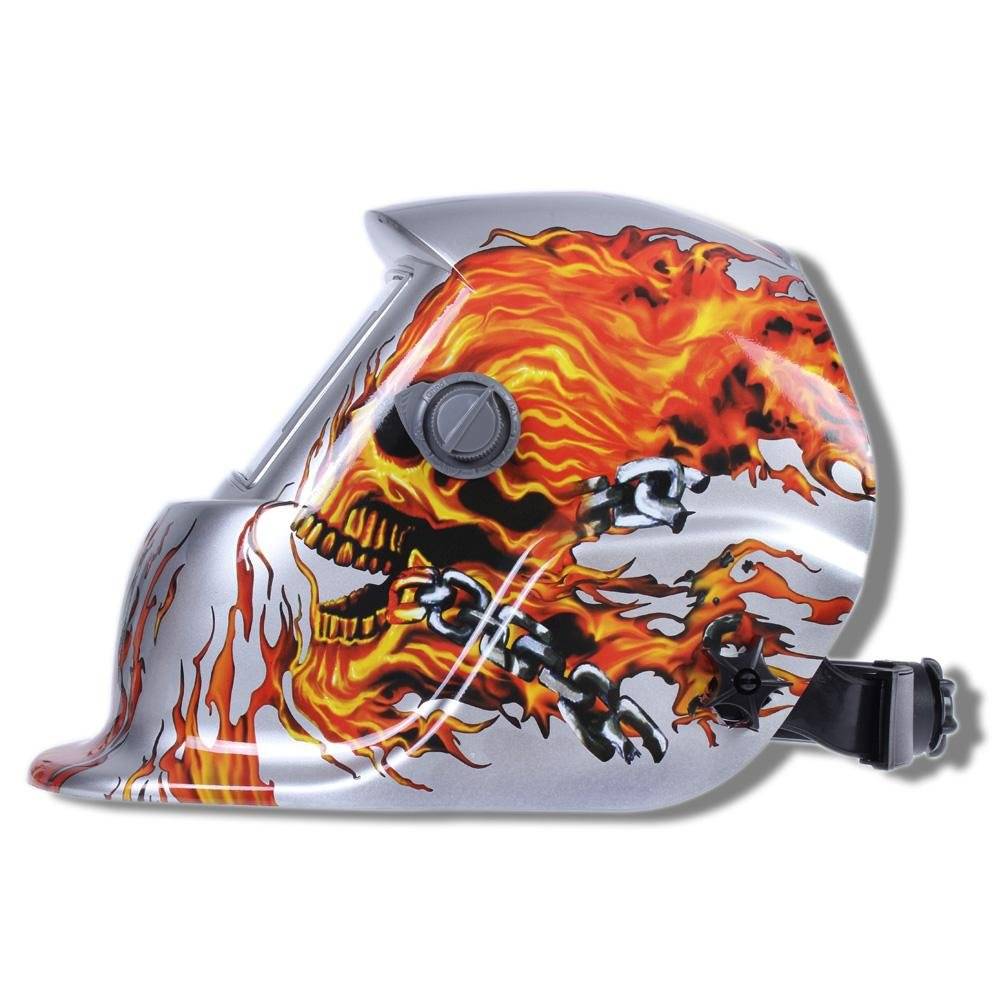 LESOLEIL Schwei/ßhelme Automatik Solar Schwei/ßmaske Schwei/ßschirm Schwei/ßschild ARC TIG MIG Welding Helmet Energie Klasse A+++