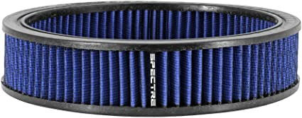 Blue Spectre Performance 48056 Round Replacement Air Filter Element 9 inch by 2 inch SPE-48056
