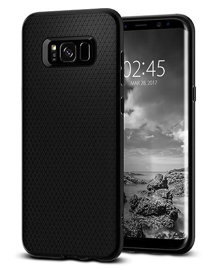 quality design 65af3 bd9f8 Spigen Liquid Air Armor Designed for Samsung Galaxy S8 Plus Case (2017) -  Black
