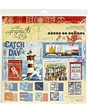 Graphic 45 Collect 12X12 Pack, Catch Of The Day