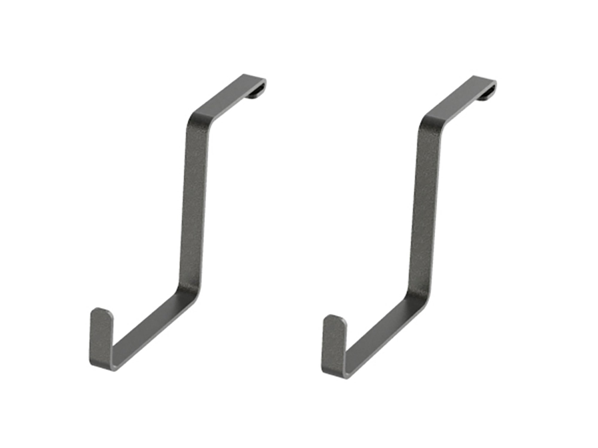 NewAge Products 40304 Accessories 2 Pack 4x8' Overhead Hooks, Garage Overheads, Gray