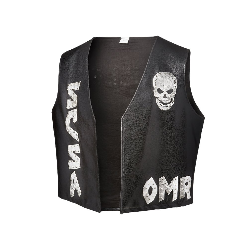 Stone Cold Steve Austin One More Round Bullet Proof WWE Authentic Mens Replica Vest-L by Official WWE Authentic