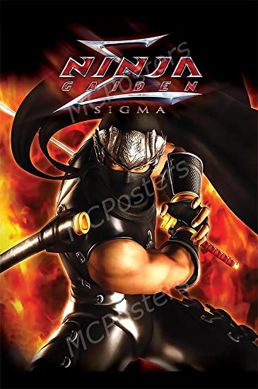Amazon.com: PremiumPrintsG - Ninja Gaiden Sigma Ryu PS3 Xbox ...