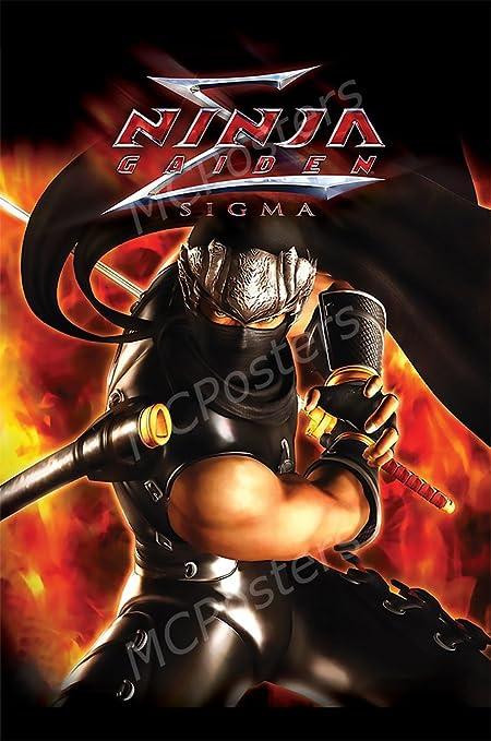 Amazon.com: MCPosters - Ninja Gaiden Sigma Ryu PS3 XBOX 360 ...