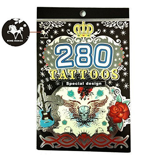 Tapp Collections 280 Temporary Tattoos - M1 Style -