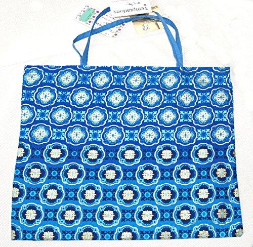 Temptations - Tote Bag For Women Blue Blue.gold