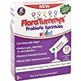 FloraTummys Probiotics Sprinkles 10ct (Pack of 6): Taste-Free & Easy to Use Powder Packets: Non-Dairy, Gluten & Sugar-Free