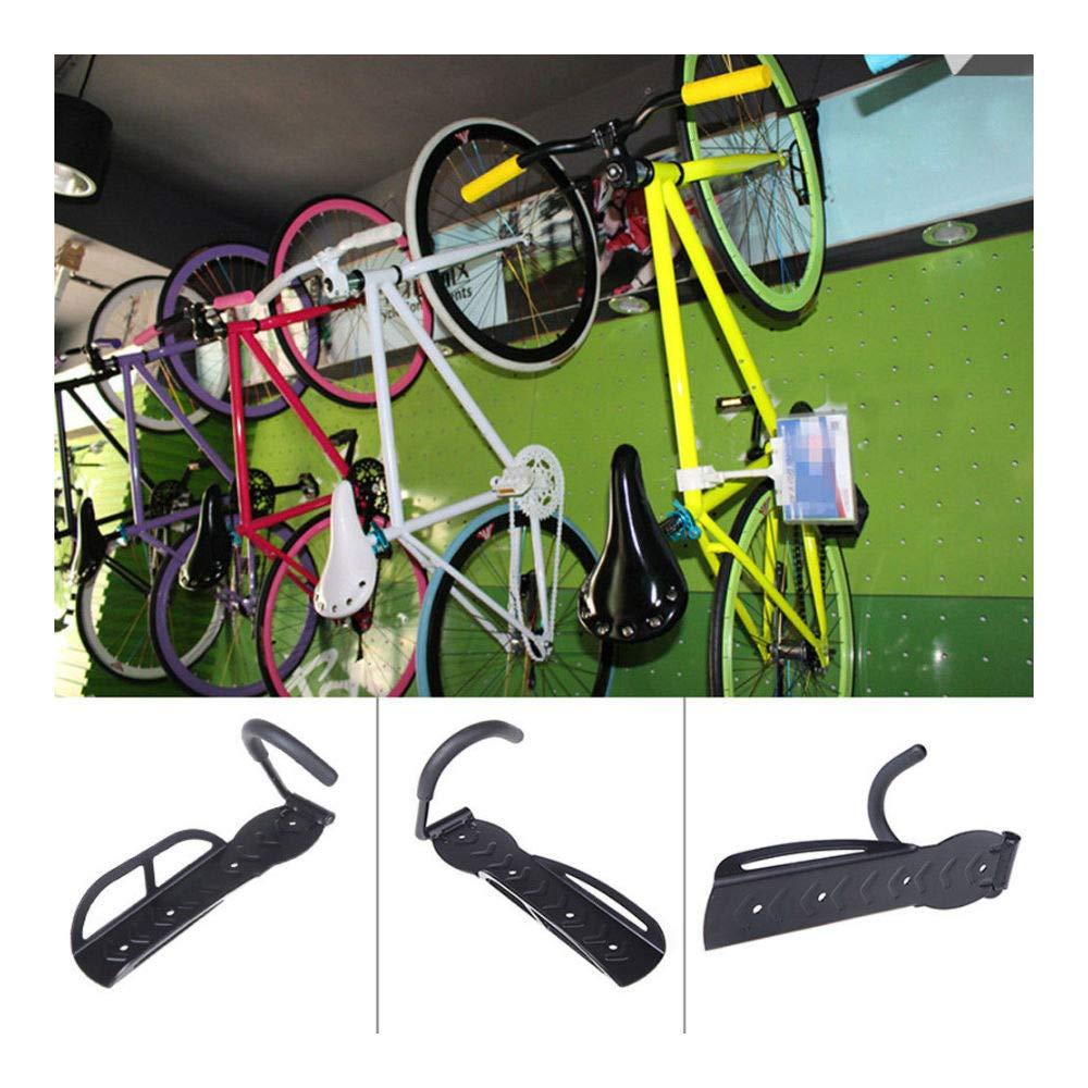 Bike Wall Mount Hook Hanger Garage Bicycle Storage Steel Holder Rack Stand 4PCS by Unknown (Image #2)