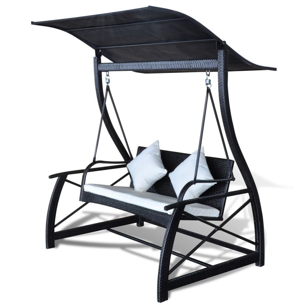 Amazon Com Homedecor Outdoor Patio Canopy Porch Swing Chair Poly