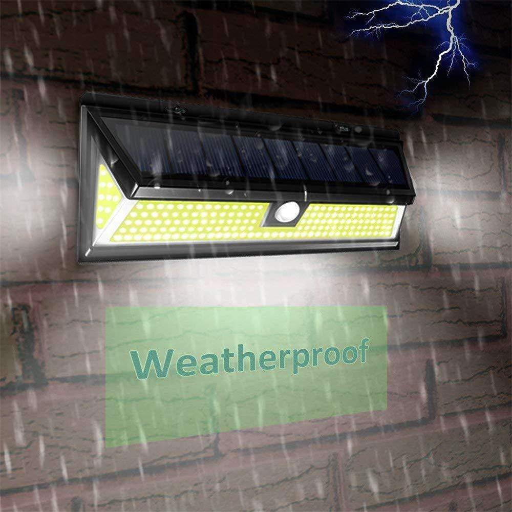 Solar Lights Outdoor, Businda Aluminum Alloy 120° Infrared Solar Lights Wireless Motion Sensor Outdoor Light Waterproof IP65 Security Lights for Front Door, Yard, Garage, Deck by Businda (Image #4)