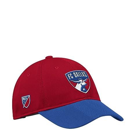 hot sale online de2b8 b73e1 Image Unavailable. Image not available for. Color  adidas FC Dallas Hat  Authentic ...