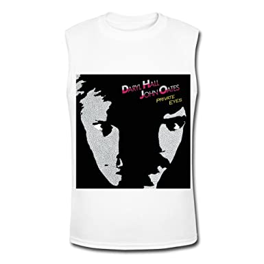 52a732808 Male Hall and Oates Pop Band Tank tops S at Amazon Men's Clothing store: