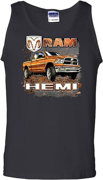 Ram Hemi Dodge Truck Tee Cool t/'shirt Black