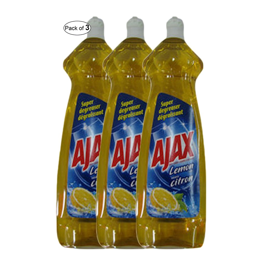 Ajax Super Degreaser Lemon(414ml) (Pack of 3)