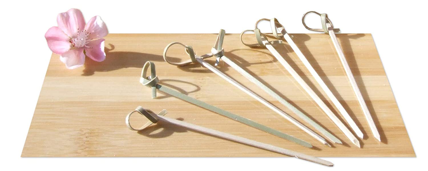 Cocktail sticks Japanese style bamboo sword 10cm X 1000 Gifts Of The Orient GOTO®
