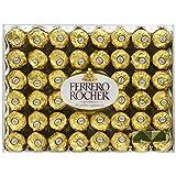 Ferrero Rocher, Fine Hazelnut Chocolates 48 Count 600 Gram Gift-Box