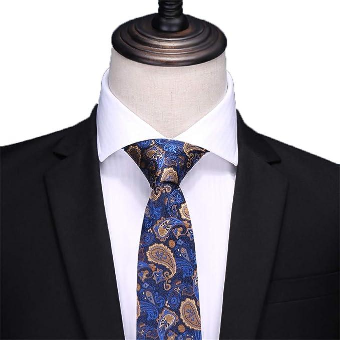 Cravatta Da Uomo In Seta BluAbito Da LavoroOccupazione