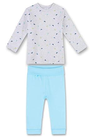 685d6e3570 Sanetta Baby-Jungen Zweiteiliger Schlafanzug 221381, Beige (Sand Melange  1952), 74
