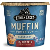 Kodiak Cakes Minute Muffins, Mountain Blueberry, 2.29 Ounce (Pack of 12) (Packaging May Vary)