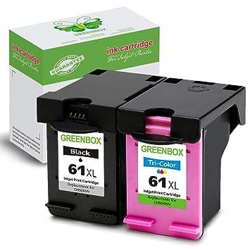Greenbox – remanufacturados HP 61 X L cartucho de tinta (alto ...