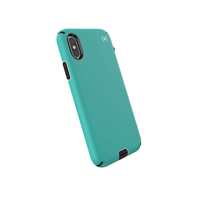 promo code 163b9 acc39 Speck Products Compatible Phone Case for Apple iPhone XS Max, Presidio  Sport Case, Jet Ski Teal/Dolphin Grey/Black