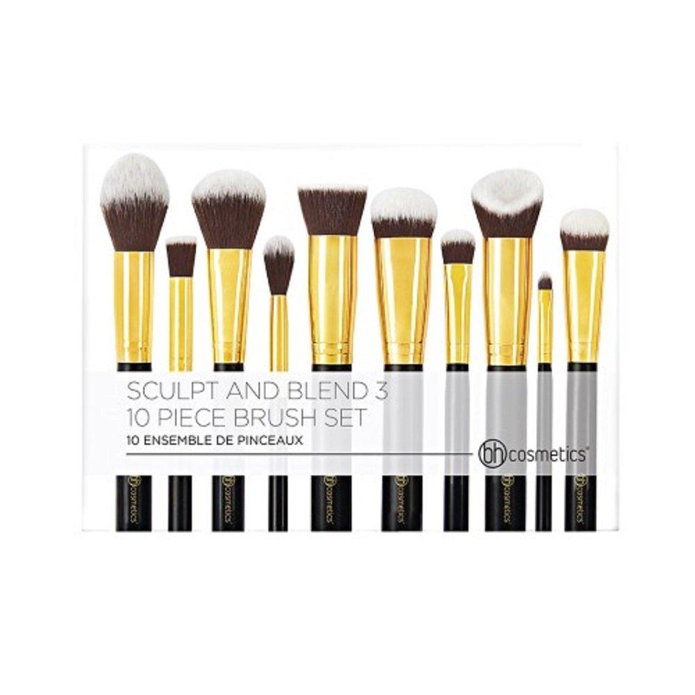 40eacfa0f44c Amazon.com   BH Cosmetics Sculpt and Blend 3 Brush Set   Beauty