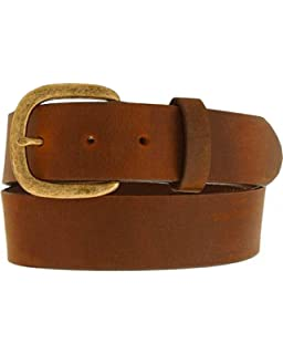 Twisted X Aged Bark Laced Leather Belt