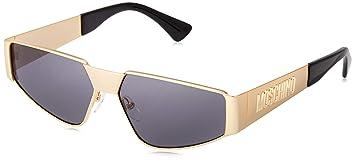 Gafas de Sol Moschino MOS037/S GOLD/GREY mujer ...