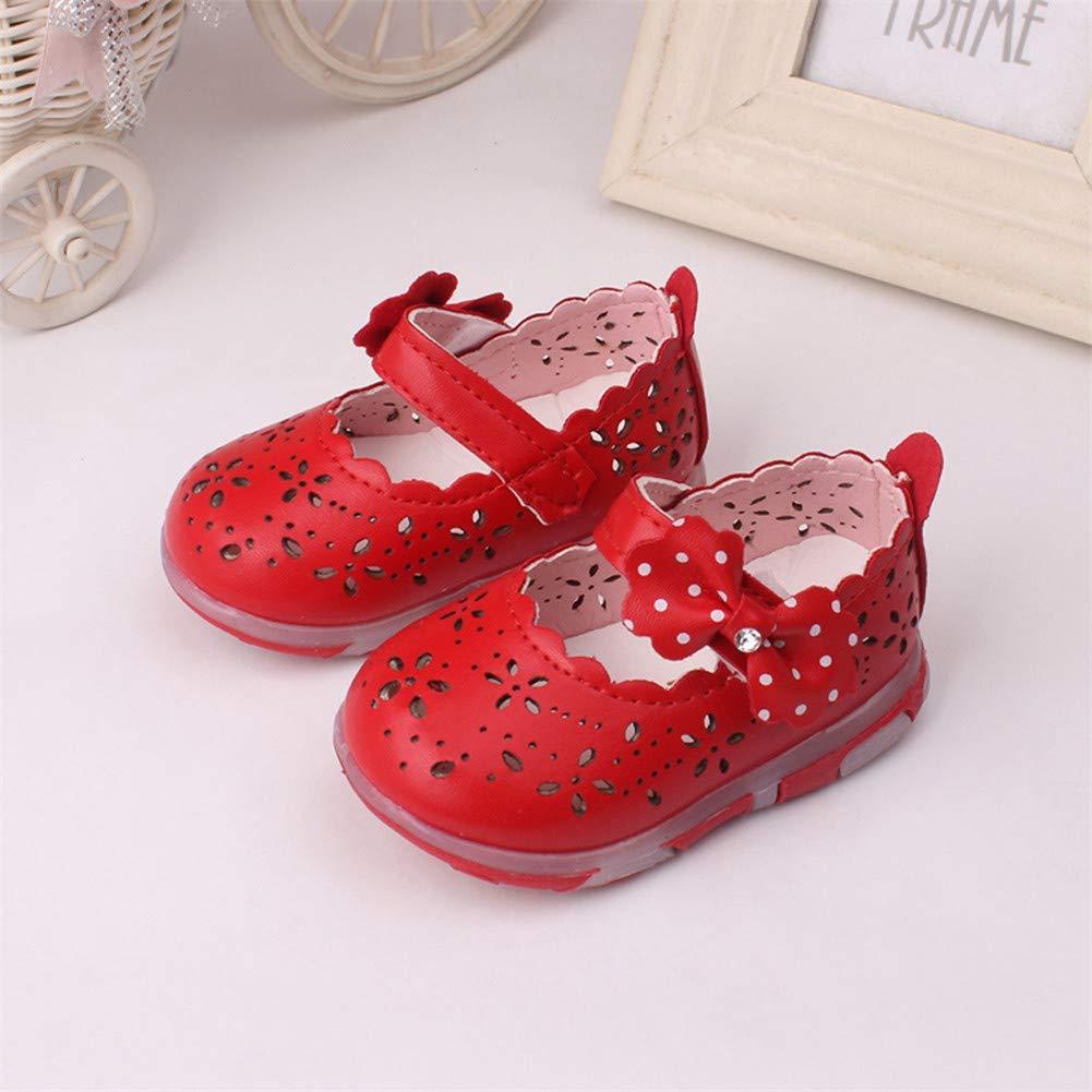 CoolBao Kids Sandals Kids Girls Princess Baby Sandals Girls Bowknot Sandalias