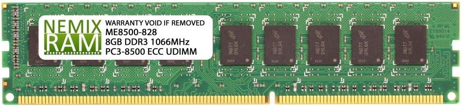 8GB DDR3-1066 PC3-8500 ECC Memory for Apple Xserve 3,1 8-Core Early 2009 by NEMIX RAM