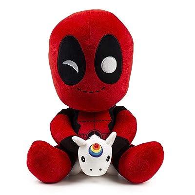 Kidrobot Deadpool with Unicorn HugMe Plush: Toys & Games