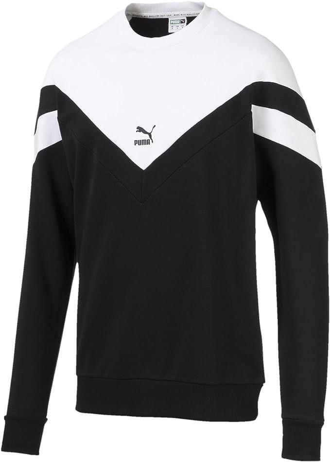 adidas Men's Fashion Crew Sweatshirt, Black, L: Amazon.co.uk