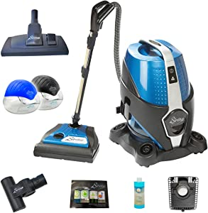 Sirena Vacuum Cleaner Deluxe Pack - Bonus 2 Sirena Twister Air Purifiers, Sirena Turbo Brush, Ocean Breeze Deodorizer, Sirena Fragrance Pack, HEPA Filter, and Exclusive Sirena Multi-Floor Tool