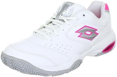 0933136fe0e Lotto Sport ARIEL W Sports Shoes - Tennis Womens White Weiss (WHT05 SILVER N