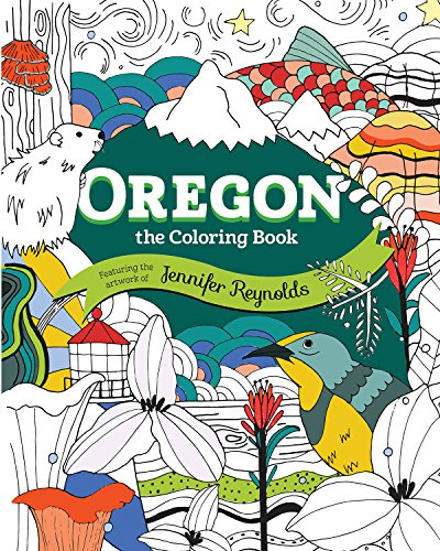 Columbia River Oregon (Oregon: The Coloring Book)