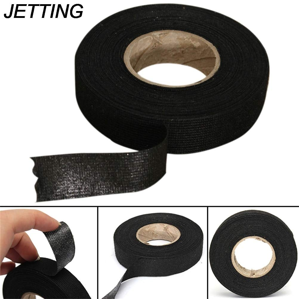 tape tape 1roll 19mm 15m black color wiring harness tape strong Electrical Harness