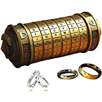 WHRMQ The Mini Da Vinci Code Cryptex Lock,Revomaze,Toy Interesting or Him to All Festivals Occasions Such as Birthday or The Other Annversary.