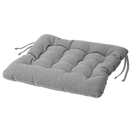 Amazon.com: IKEA ASIA VIPPART Chair Cushion Grey 38x38x6.5cm ...
