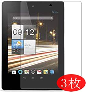 """【3 Pack】 Synvy Screen Protector for ACER iconia tab A1-811 7.9"""" TPU Flexible HD Film Protective Protectors [Not Tempered Glass]"""