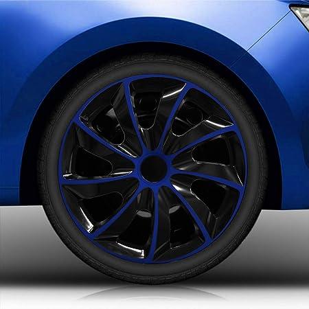 Autoteppich Stylers 15 15 Zoll Radkappen 02 Rk Schwarz Royalblau Radblenden Farbe Und Größe Wählbar Auto