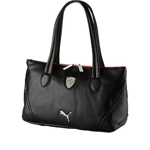 Puma Ferrari LS Handbag (Black)