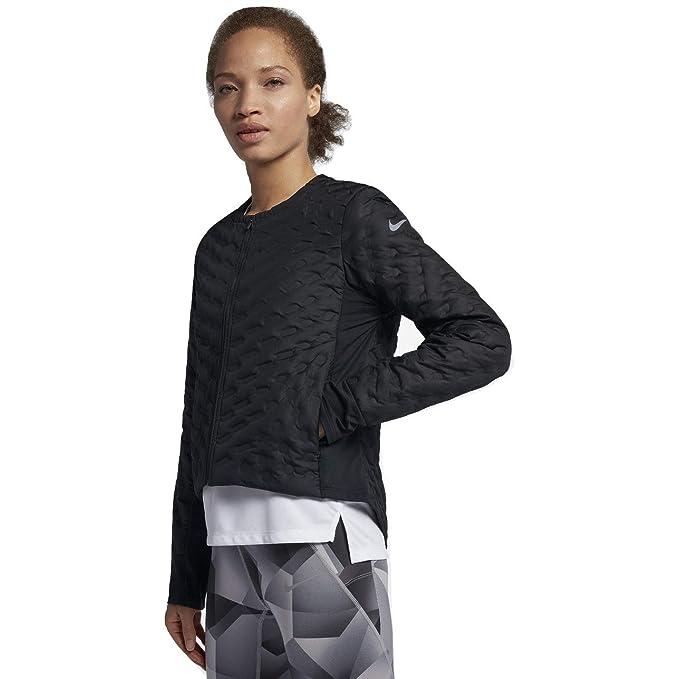 Amazon.com: Nike AeroLoft - Chaqueta de running para mujer ...
