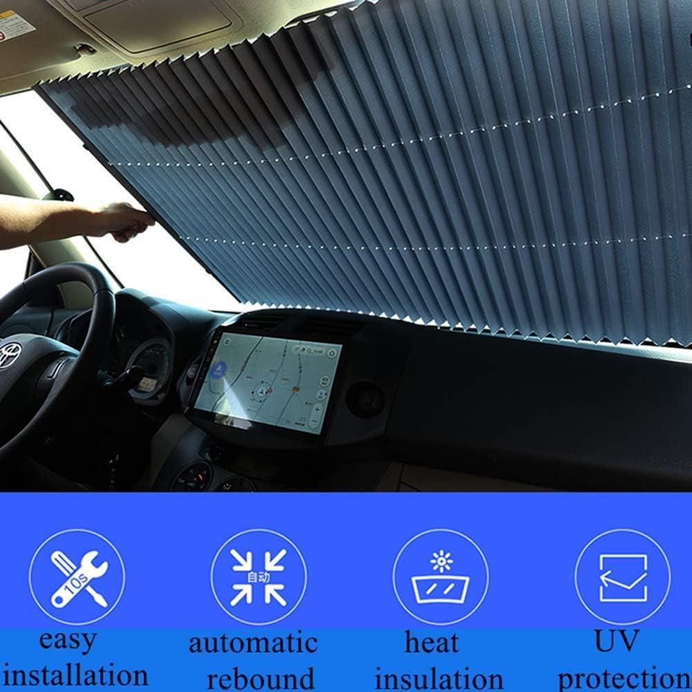 Barriera Fotoelettrica Per Tende Oscuranti Parasole Anteriore Pieghevole Telescopico Protezione Solare Per Auto Parasole Termoisolante