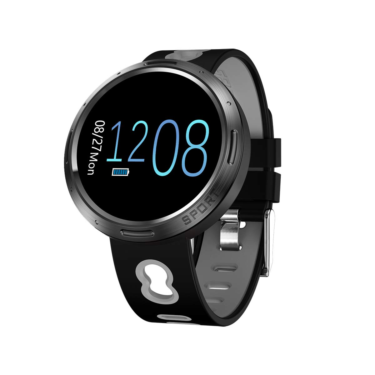 Amazon.com: WO FEI Smart Wristband 2019 Reloj Inteligente ...