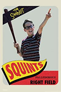 Pyramid America The Sandlot Movie Squints Baseball Card Retro Vintage Sports Film Cool Wall Decor Art Print Poster 12x18