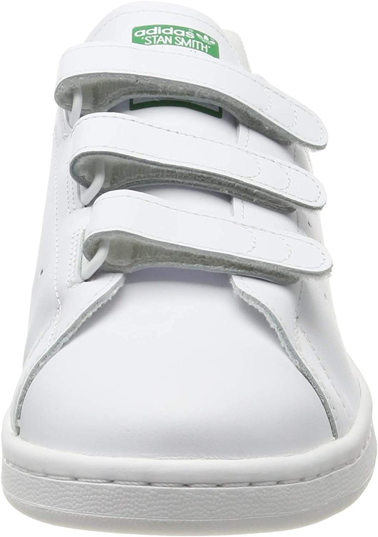 adidas Herren Stan Smith Cf Gymnastikschuhe Weiß (Ftwr White/Ftwr White/Green Ftwr White/Ftwr White/Green)