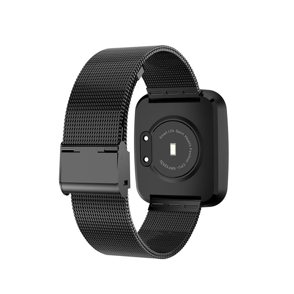 V6 reloj inteligente pulsera impermeable ritmo cardíaco ...
