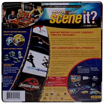Scene It? Deluxe Movie 2nd Edition: Toys & Games