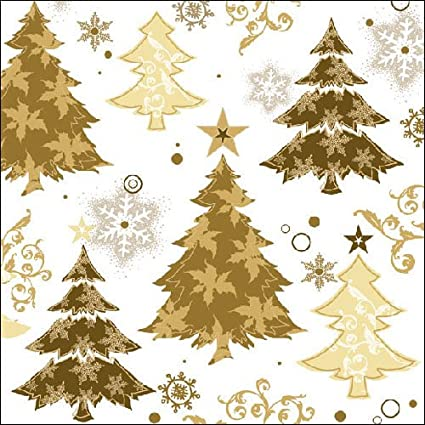33 cm confezione da 20 Ambiente Tovaglioli di Natale