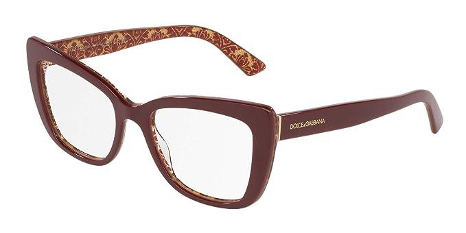 Amazon.com: Dolce & Gabbana DG 3308 Marco de gafas para ...